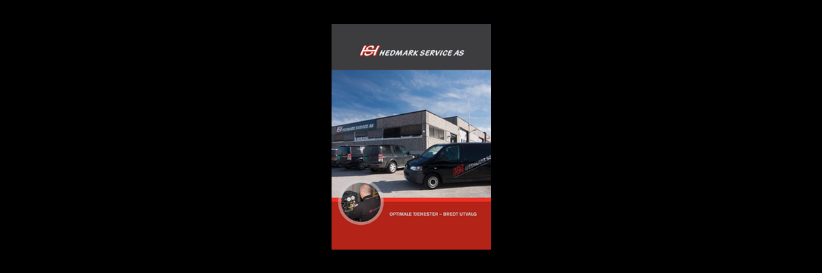 Gammel brosjyre - Hedmark Service