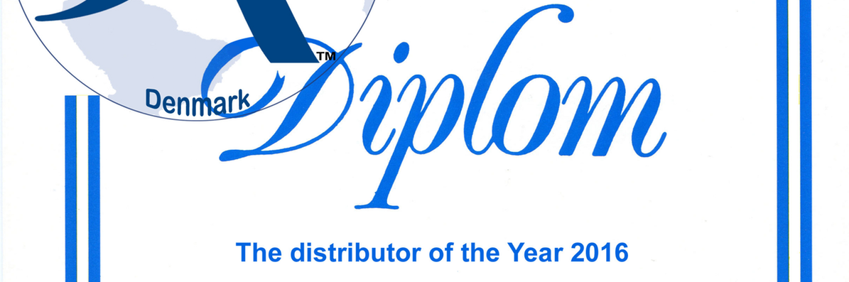 Jema - årets distributør 2016