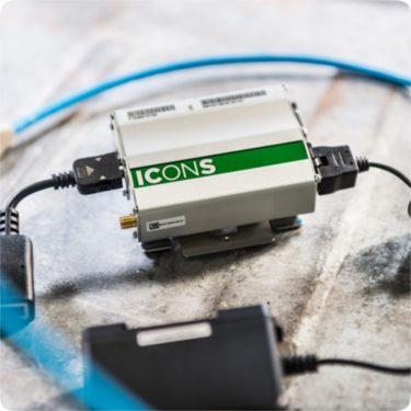 ICONS - fjernstyring av kompressor
